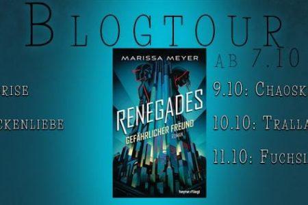 Blogtour Renegades