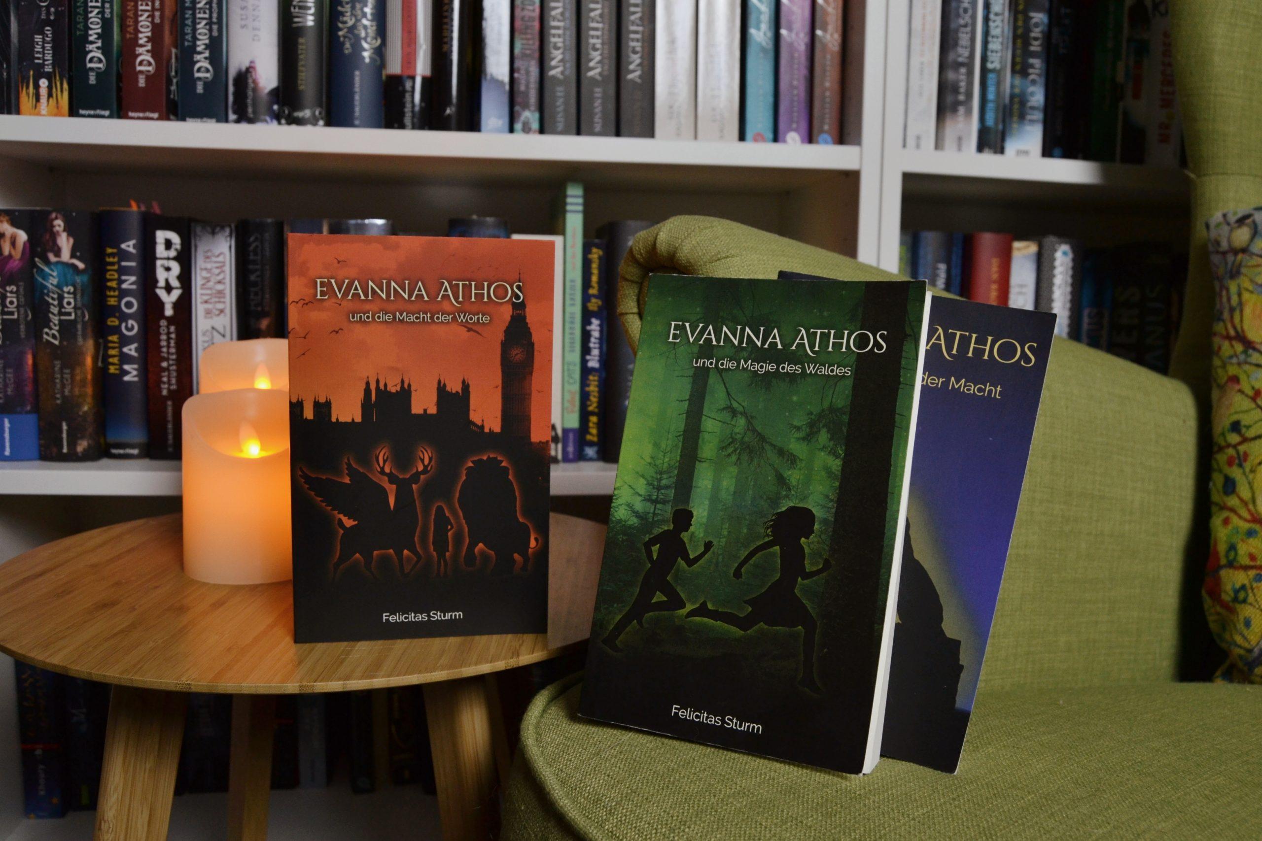 Evanna Athos und die Macht der Worte